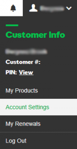 Delegate Account Access in GoDaddy - Step 1