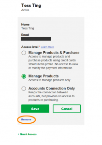 Remove Delegated Access to GoDaddy Account