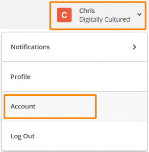 How to add a user to your MailChimp account - Step 1